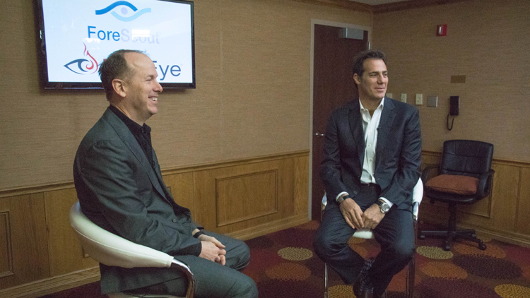 Michael DeCesare, ForeScout CEO and president (l) and David DeWalt, chairman of the board and CEO at FireEye (r) - image 2