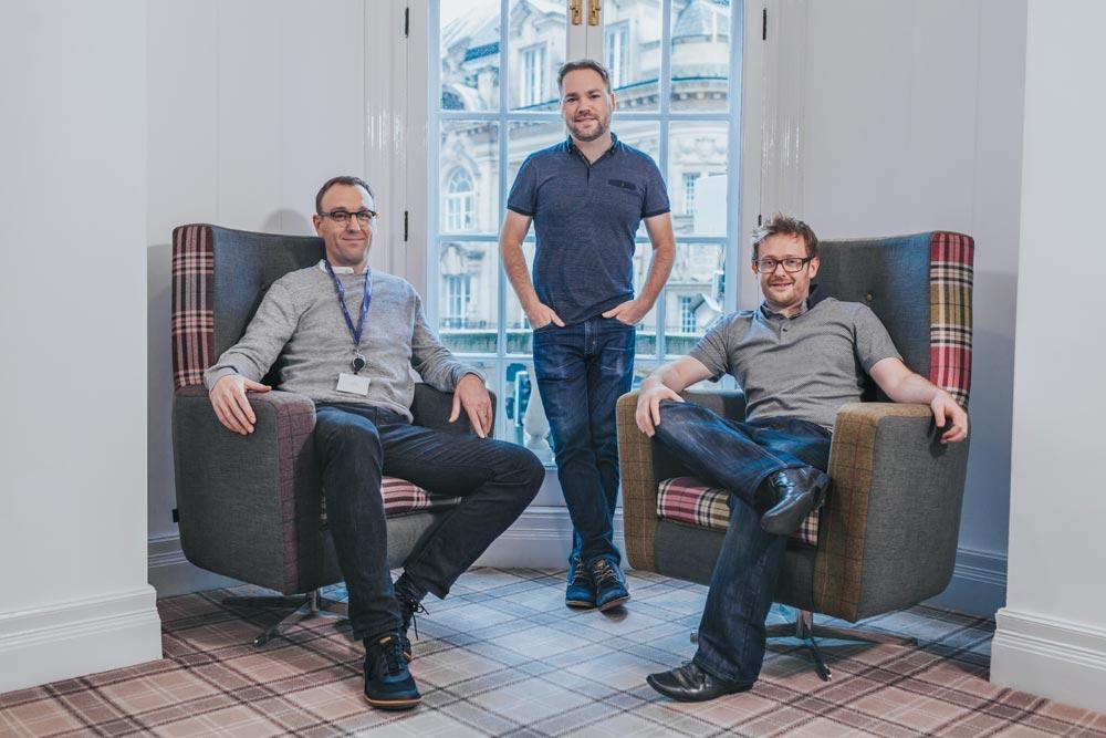 Founders L-R Tim, Paul, Jon