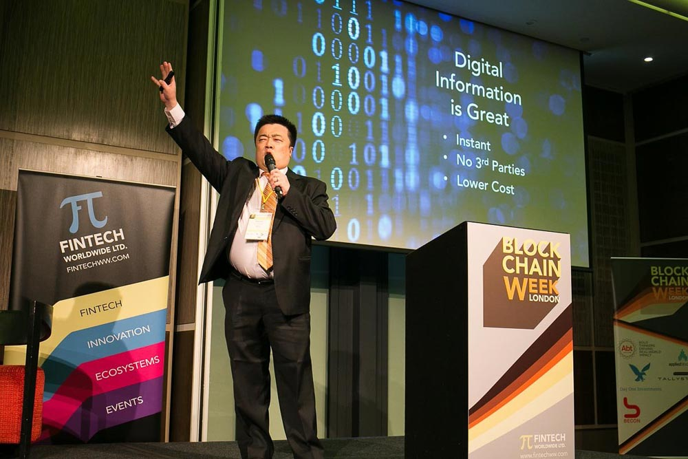In an unorthodox move to drive downloads of BTCC's latest bitcoin wallet app, Mobi.me, CEO Bobby Lee informed delegates of London Blockchain Week that the first to download it would be rewarded with physical bitcoin.