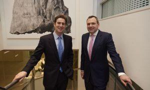 Ben Marnham, CEO of Timico and Simon Hitchcock, Partner at Lyceum Capita...