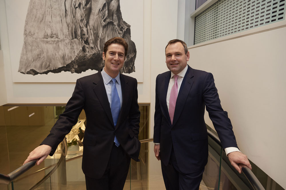 Ben Marnham, CEO of Timico and Simon Hitchcock, Partner at Lyceum Capital