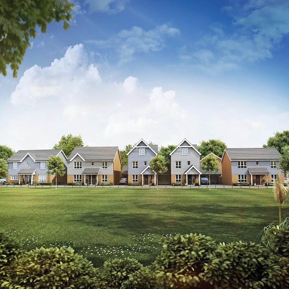 Homes For Growing Families Launch In Commuter Town Of Chertsey