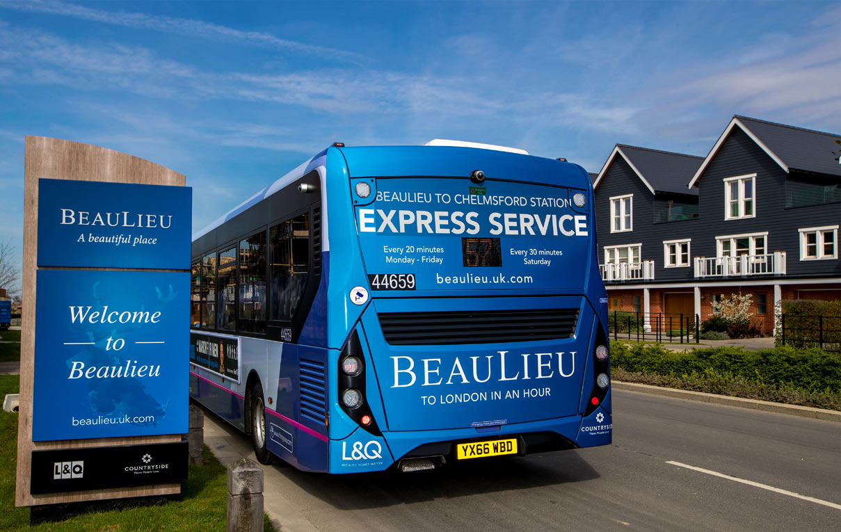 On The Buses In Beaulieu