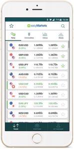 easyMarkets releases brand new trading app 1