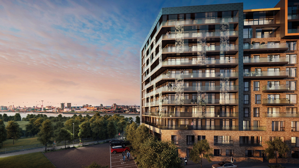 Enjoy The River Views With New Thameside Homes At Gmv