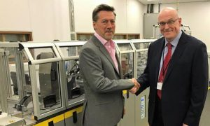Ian Brown, Director of Nu: Agencies & Keith Worrall, CEO of Thames Card Technology