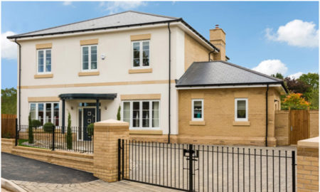 Spitfire launch new regency style show home in Royal Leamington Spa