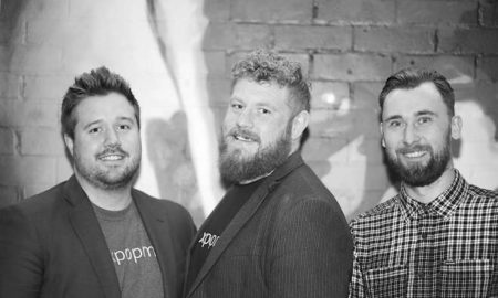 Voxpopme Founders L-r Tom Williams Dave Carruthers Andy Barraclough