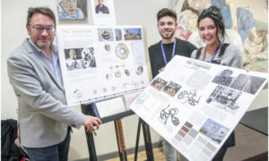 Students win competition to design sculpture at the Tramyard
