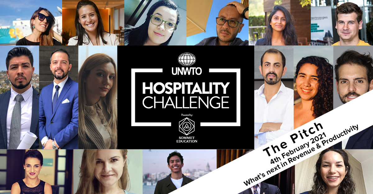 World Tourism Organization (UNWTO) and Sommet Education launch Hospitality Challenge Pitch 41
