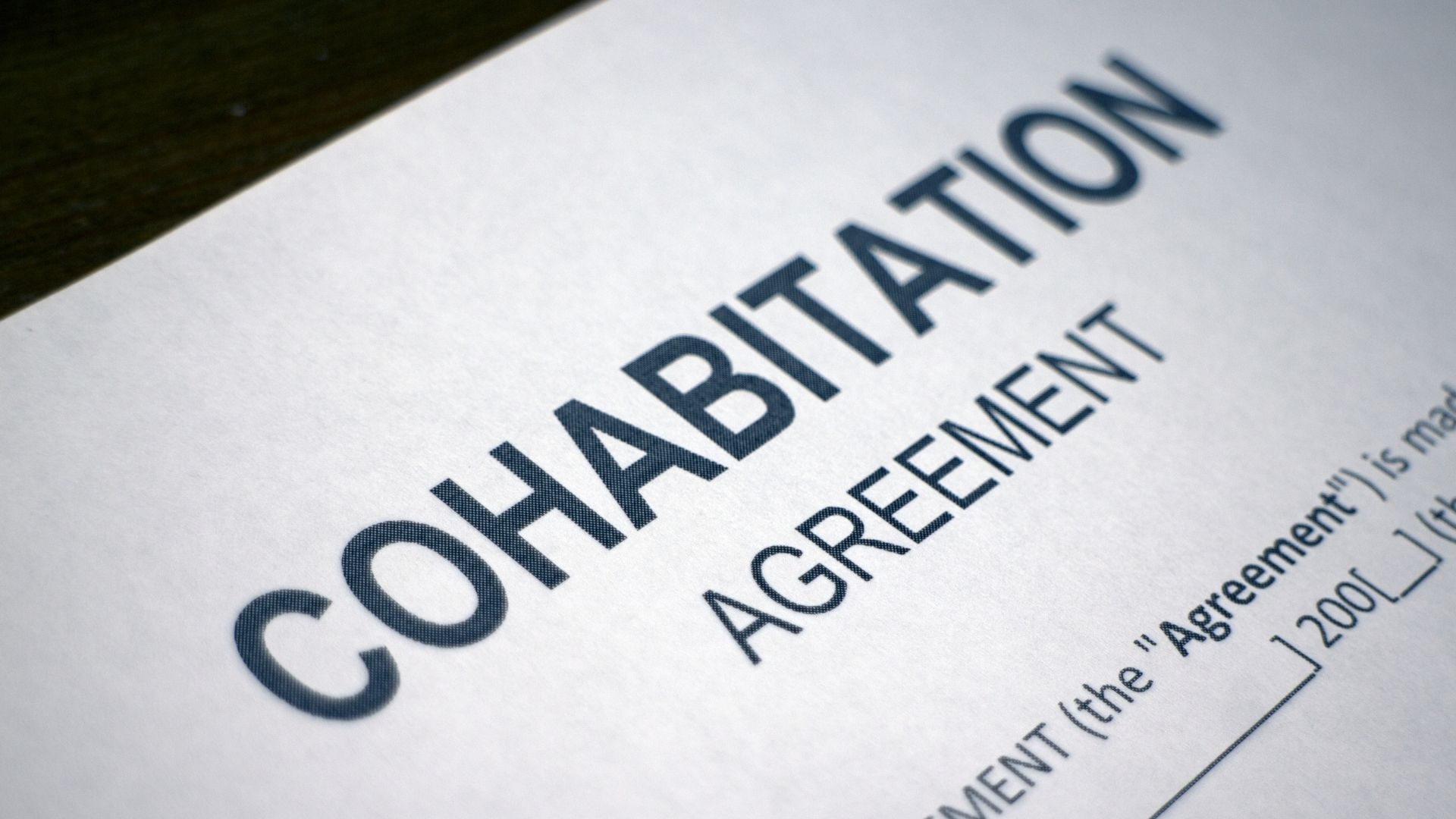 Cohabiting Couples: Your rights and the law 33