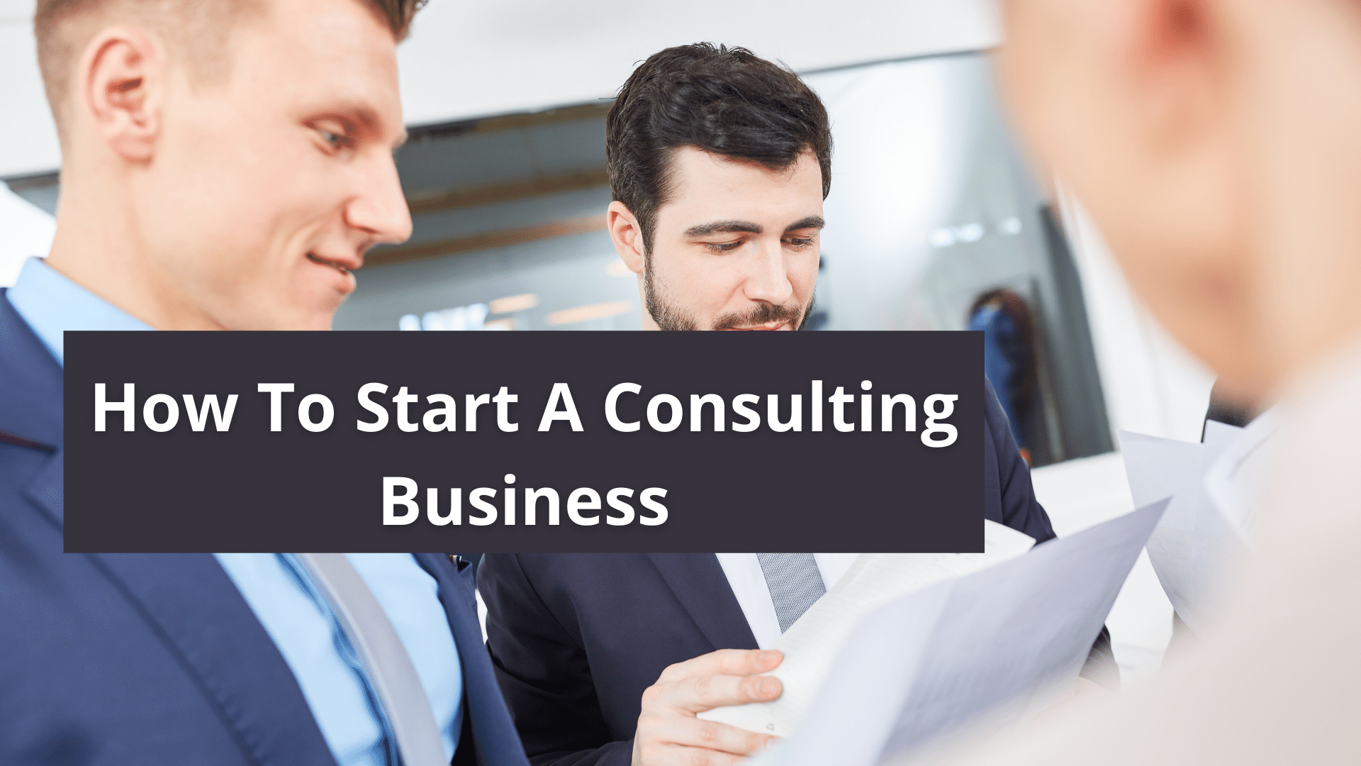 How To Start A Consulting Business 8