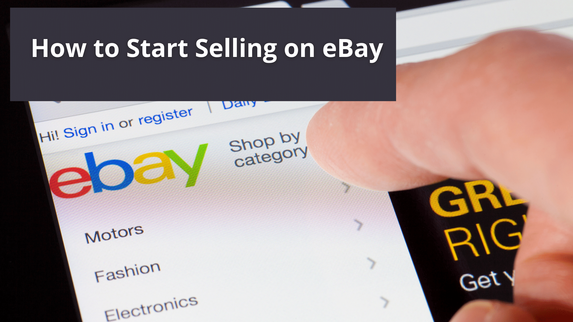 How to Start Selling on eBay - What You Need to Know Before You Get Started 41