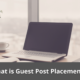 What is Guest Post Placement? 20