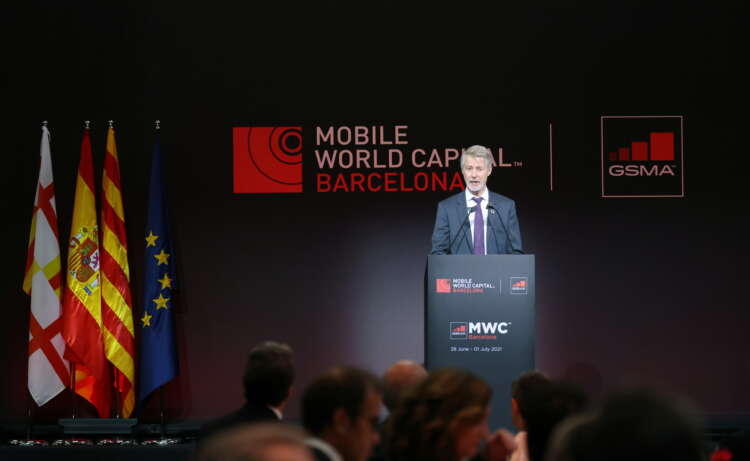 Back in Barcelona, telecoms bosses stake claim to digital future 41