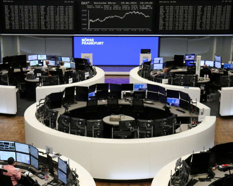 Global shares fall on pandemic fears ahead of jobs report 41