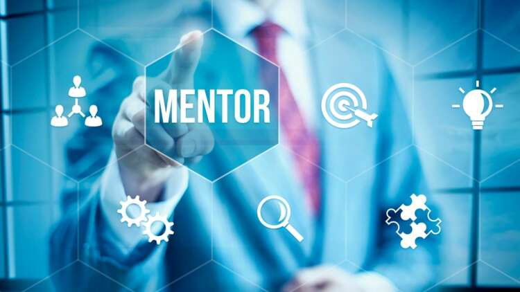 Why do the famous names in business rely on mentors?