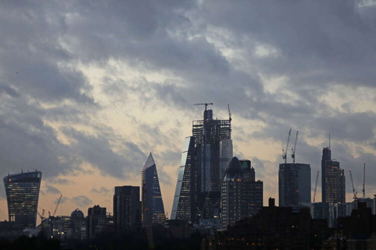 Factbox-UK aims to strengthen London as a global financial centre 38