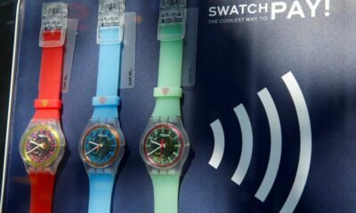 Swatch Group returns to profit as sales jump 59