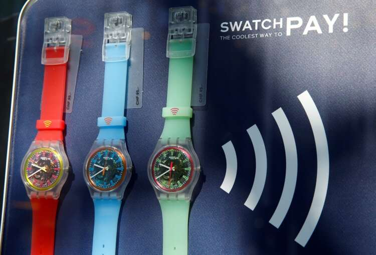 Swatch Group returns to profit as sales jump 41