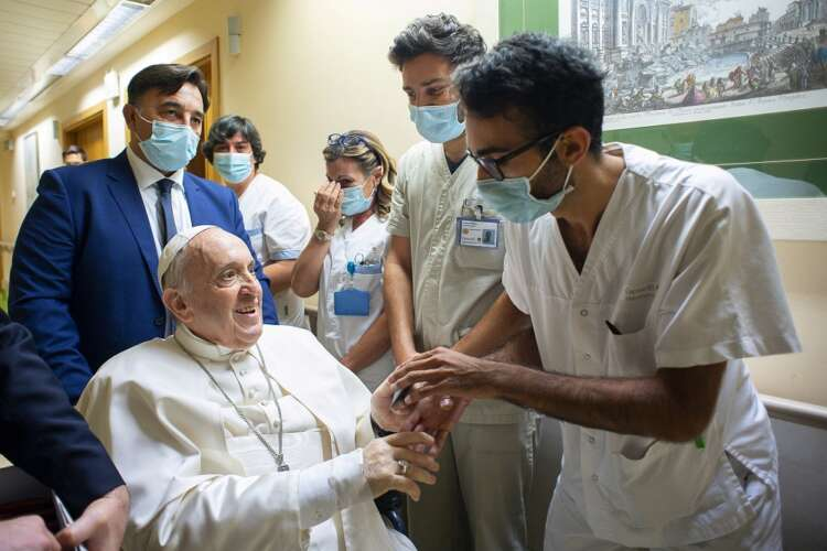 Pope Francis to leave hospital as soon as possible, says Vatican 41