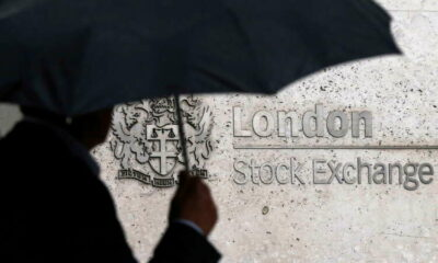 FTSE 100 ends lower as pound jumps after inflation rises further in June 61