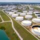 Oil edges up but on track for big weekly drop on supply concerns 56