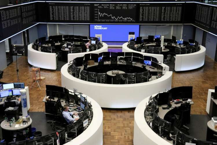 Basic material, luxury stocks drive European shares to a third day of losses 37