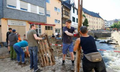 Germany sets out flood relief funding, hopes of finding survivors fade 39