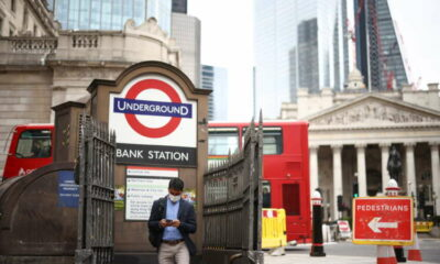 UK growth slows sharply in July as COVID 'pingdemic' hits 16