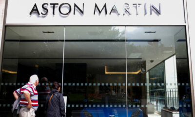Aston Martin's first SUV helps push up sales by more than 200% 58