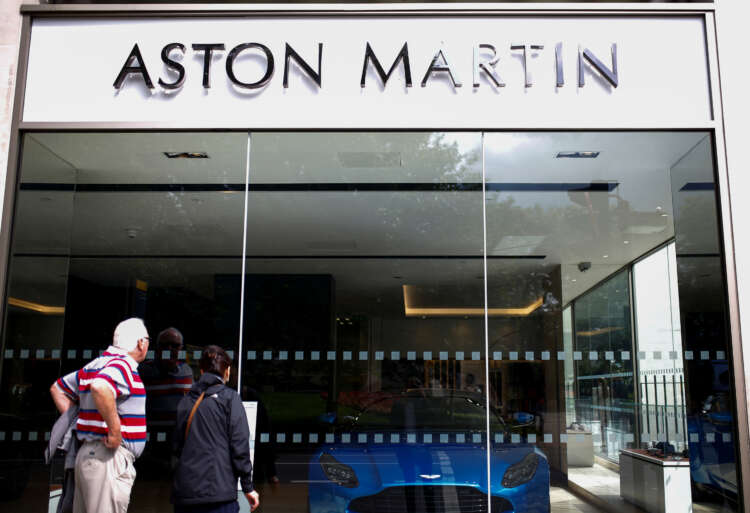 Aston Martin's first SUV helps push up sales by more than 200% 41