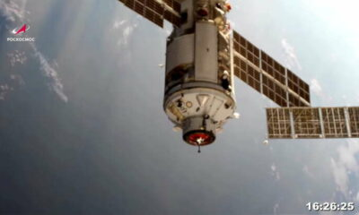 International Space Station thrown out of control by misfire of Russian module -NASA 21