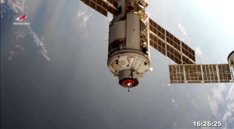 International Space Station thrown out of control by misfire of Russian module -NASA 41