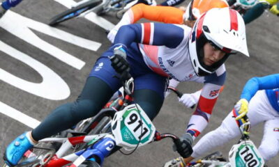Olympics-Cycling-Britain's Shriever wins gold in women's BMX 20