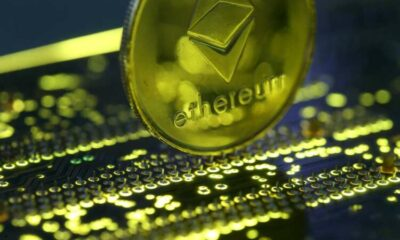 Ethereum software upgrade activated; ether reverses losses, trades up 55