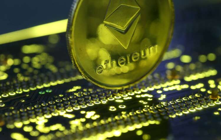 Ethereum software upgrade activated; ether reverses losses, trades up 41