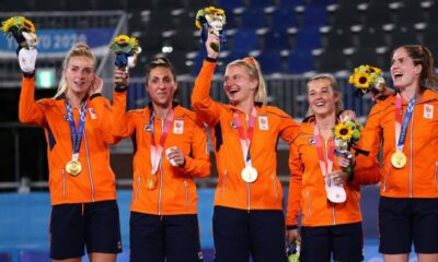 Olympics-Hockey-Netherlands claim gold with 3-1 victory over Argentina 43