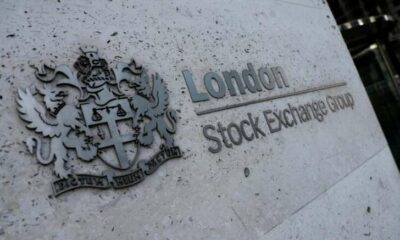 FTSE 100 weighed down by Rio Tinto, Aviva leads gains 43