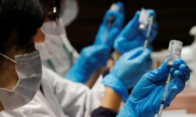 Japan finds stainless steel particles in suspended doses of Moderna vaccine 63