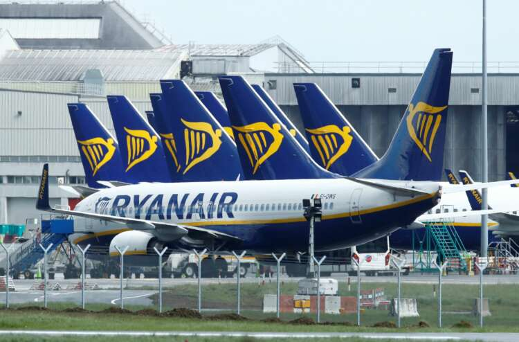 Ryanair passenger numbers rise in August to 11.1 million 41
