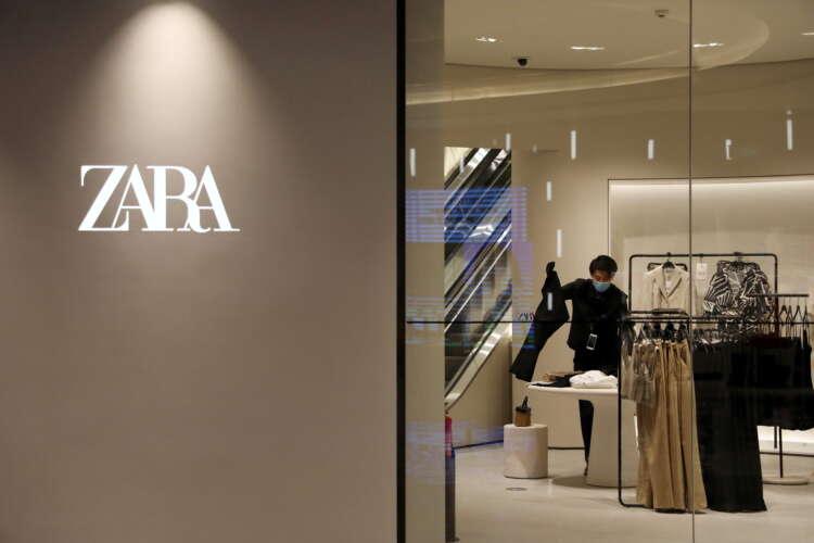 Zara owner Inditex sales rebound to top pre-pandemic levels 41