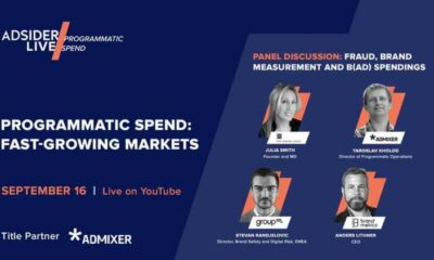 Admixer to join other leading industry players at upcoming Adsider LIVE/Programmatic Spend event 45