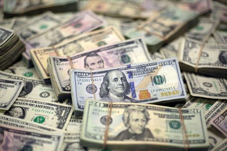 Dollar makes broad gains on inflation worries 41