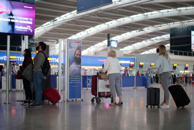 Britain says exact date on U.S. travel reopening still not known 41