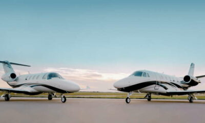Textron launches two Cessna jets on corporate demand rebound 43