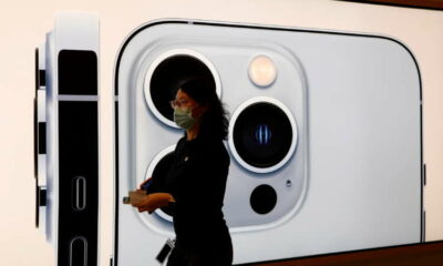 Apple likely to cut iPhone 13 production due to chip crunch -Bloomberg News 56