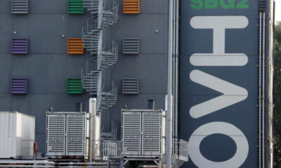 Shares in French tech champion OVHcloud gain 6% in Paris debut 3