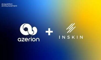 Azerion set to become European digital powerhouse following strategic acquisition of Inskin Media 34